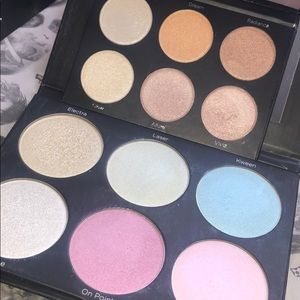 2 BH Cosmetics Highlighter Palettes